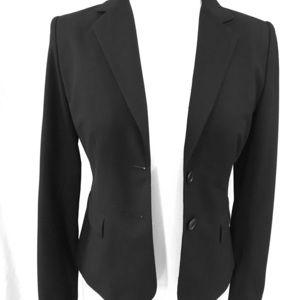 Ann Taylor Loft black blazer size 2